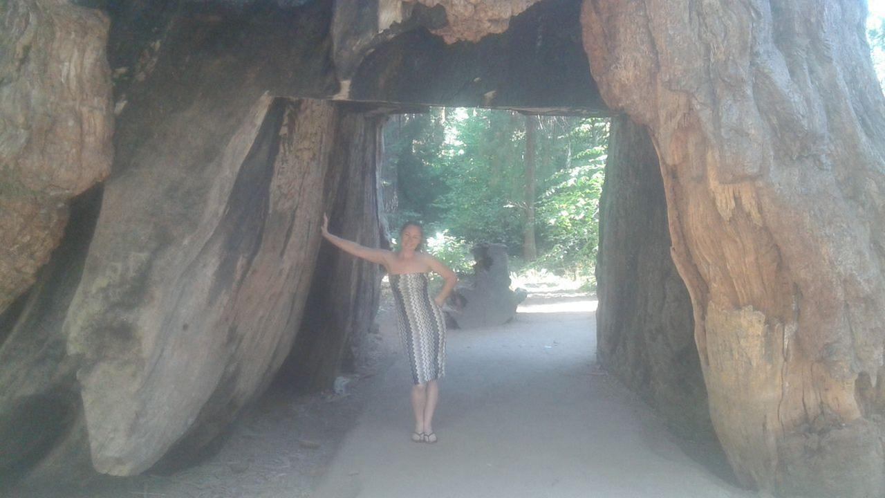 ABC7 viewers shared photos of their visit to the Calaveras, Calif. tunnel tree. The iconic tree toppled over during a massive storm in the Bay Area on Sunday, January 8, 2017.Photo submitted to KGO-TV by Juan Daniel/Facebook
