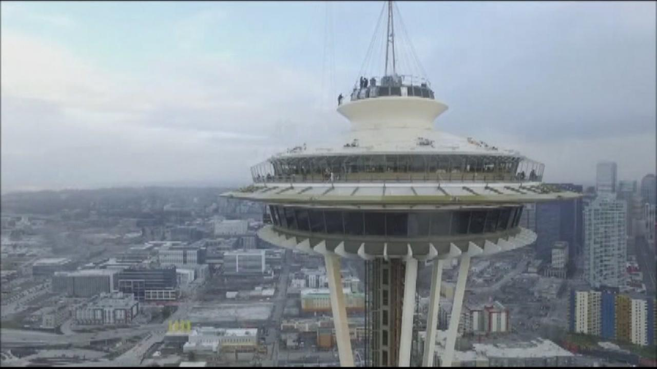 Drone crash at Space Needle under investigation