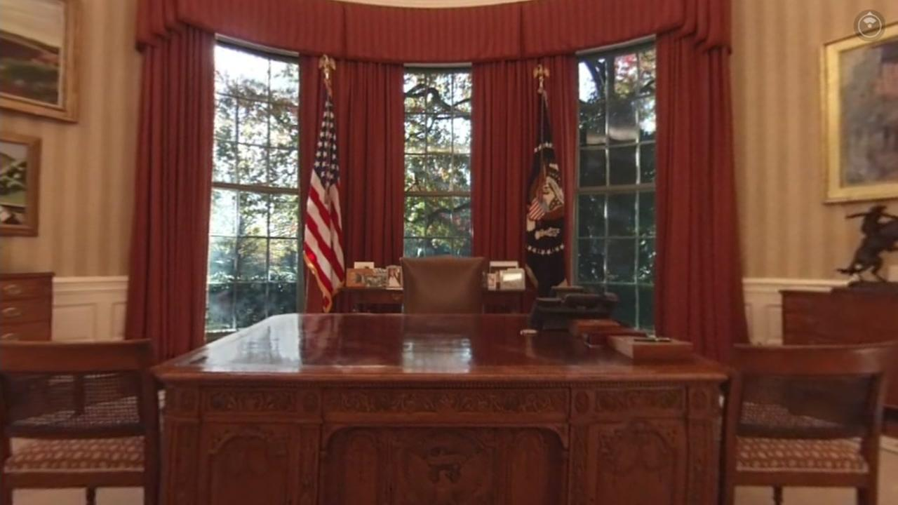 The Oval Office is seen in this undated image.
