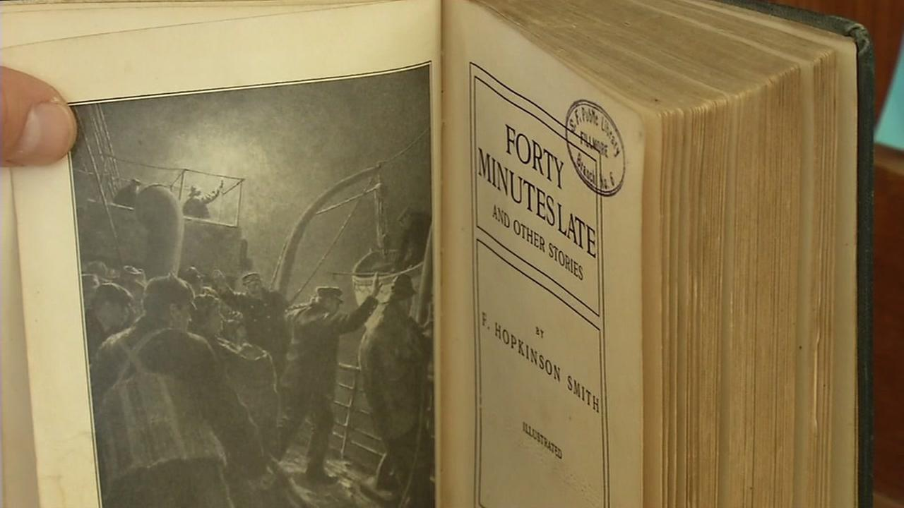 San Francisco Library get book 100 years overdue