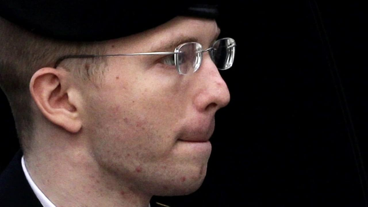 This is an undated image of Chelsea Manning.