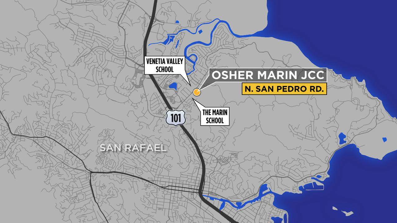 Bomb threat at Jewish Community Center in San Rafael