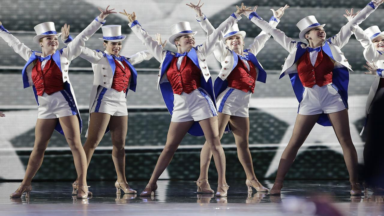 The Rockettes perform at the Freedom Ball in Washington, on Friday, Jan. 20, 2017, at the Washington Convention Center during the 58th presidential inauguration.Mark Tenally/AP