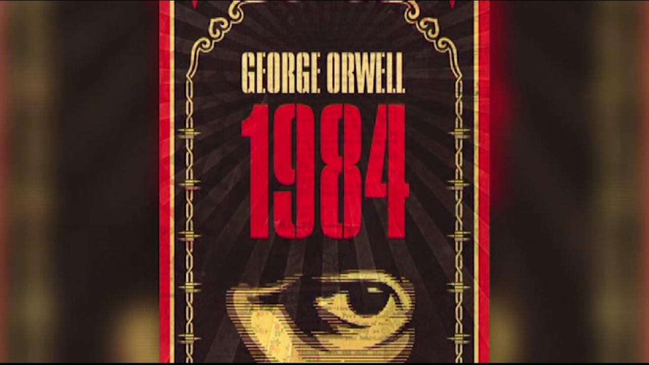 Novel 1984 skyrockets to top sellers list on Amazon