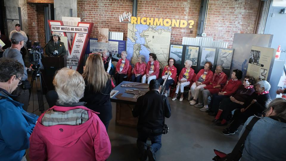 Bay Area women celebrate 1st ever Rosie the Riveter Day