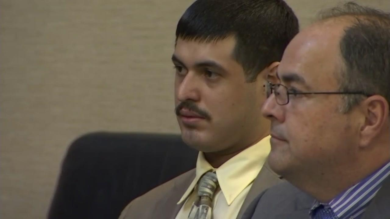 Antolin Garcia-Torres is seen in court in Santa Clara County in this undated image.