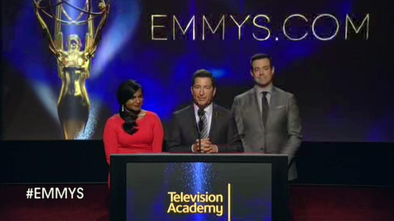 Emmy nominations in Los Angeles.