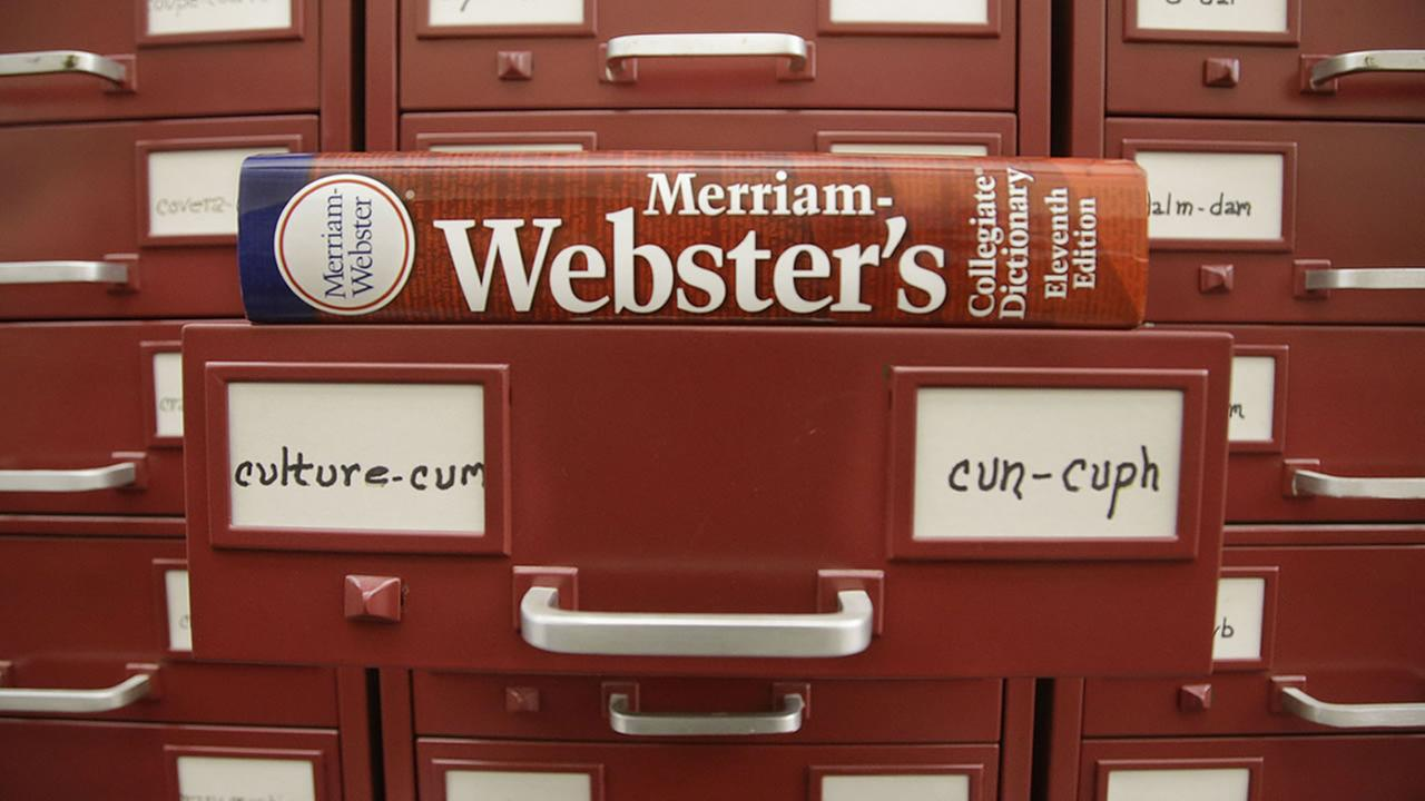 Merriam-Webster Dictionary releases list of new words, phrases