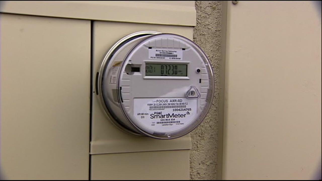 A PG&E meter sits on the side of a building on Wednesday, Feb. 8, 2017.