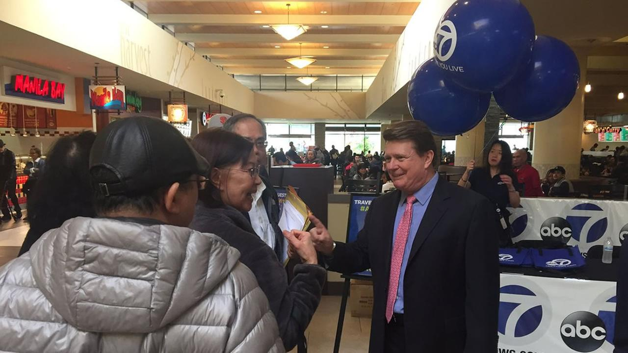 7 On Your Sides Michael Finney was at the Serramonte Center taking consumer questions. Friday, February 10, 2017.KGO-TV