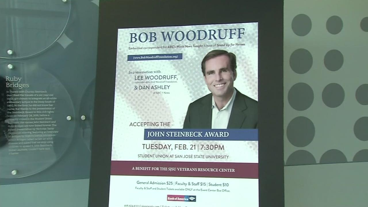 Dan Ashley attends event honoring iconic journalist Bob Woodruff