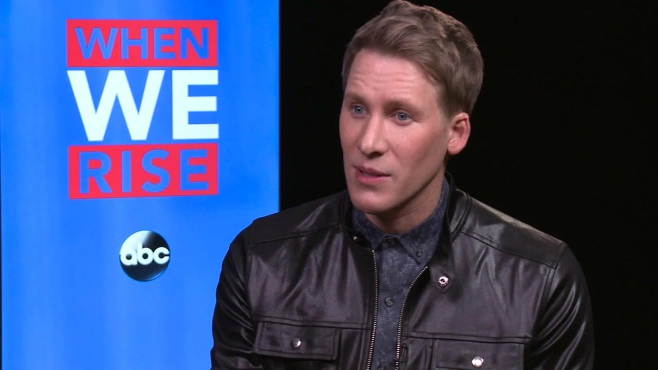 Oscar-winning screenwriter Dustin Lance Black discusses When We Rise.