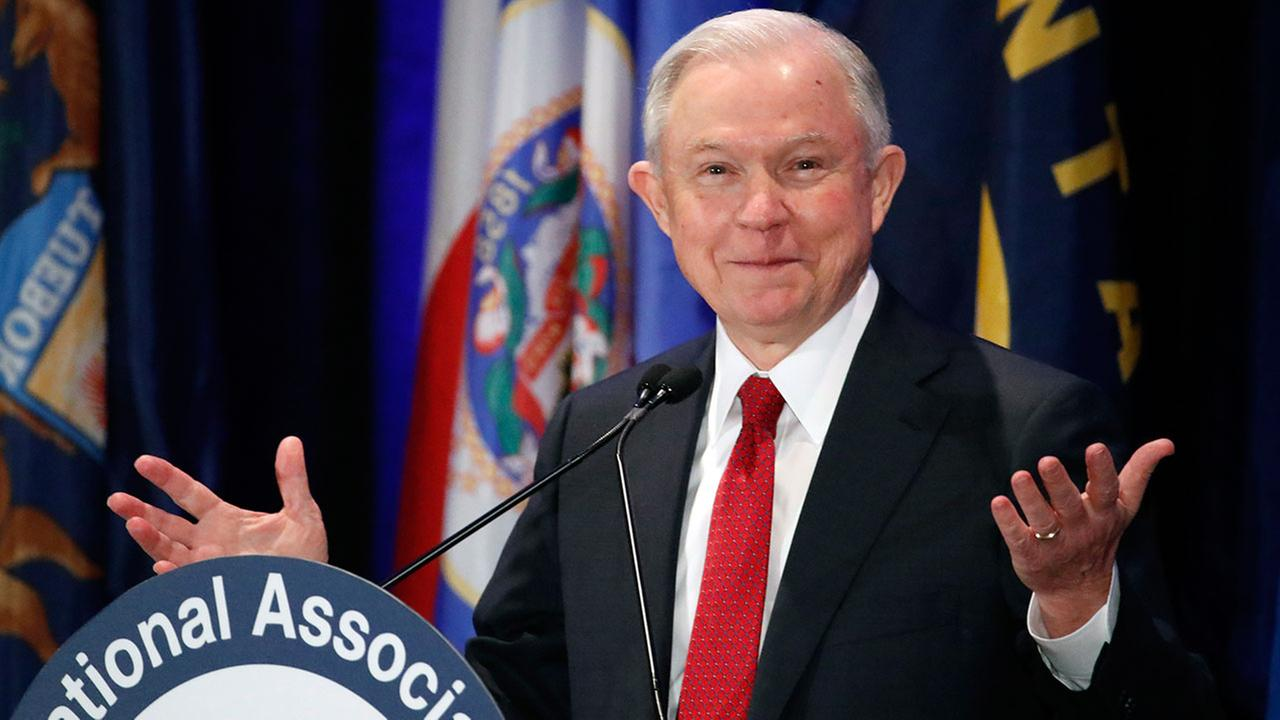 Attorney General Jeff Sessions, pictured at a Feb. 28, 2017 meeting of the National Association of Attorneys General in Washington.