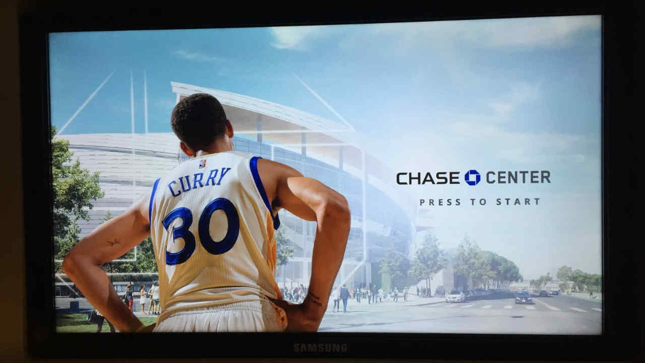 The Warriors opened their new Chase Center Experience in the Mission Bay area Tuesday to give fans a virtual look inside the new arena.