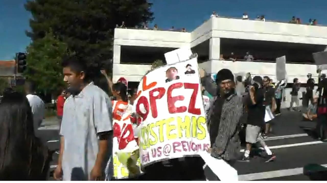 Andy Lopez protest
