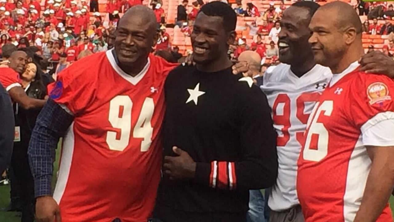 Aldon Smith and 49ers legends