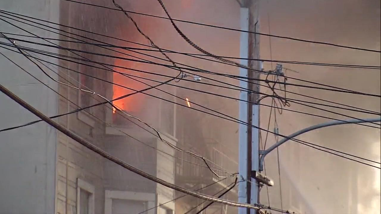 Coroners office says 2 dead, multiple injuries in 4-alarm fire in Oakland