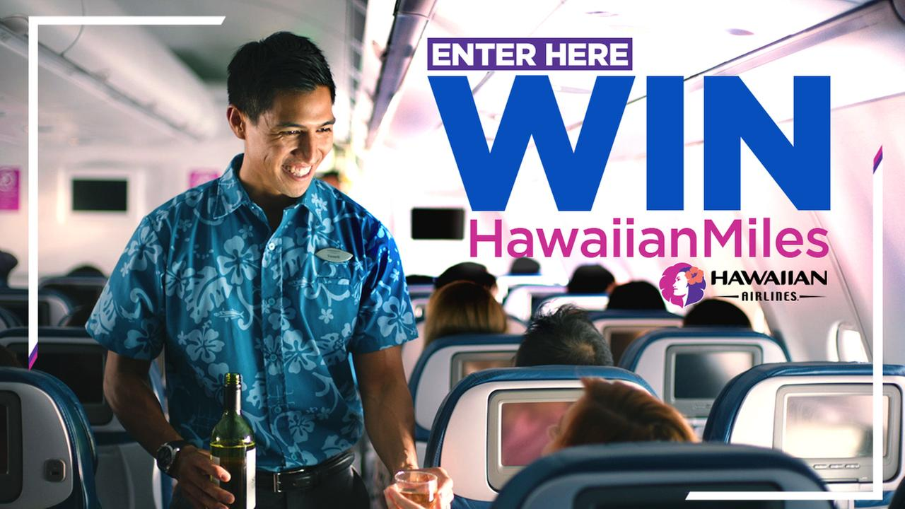 Enter for your chance to win a trip for two to Hawaii on ABC7 Aloha Fridays!