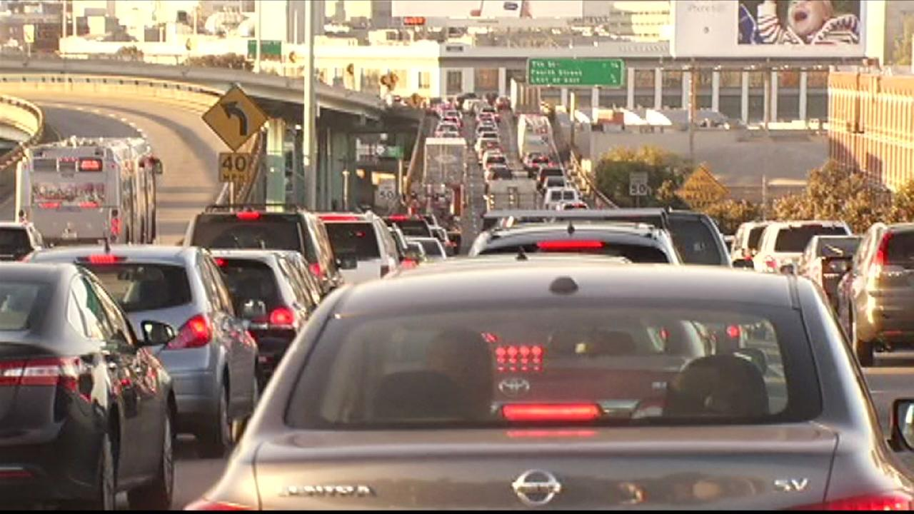 Traffic frustration reaches breaking point for bay area drivers