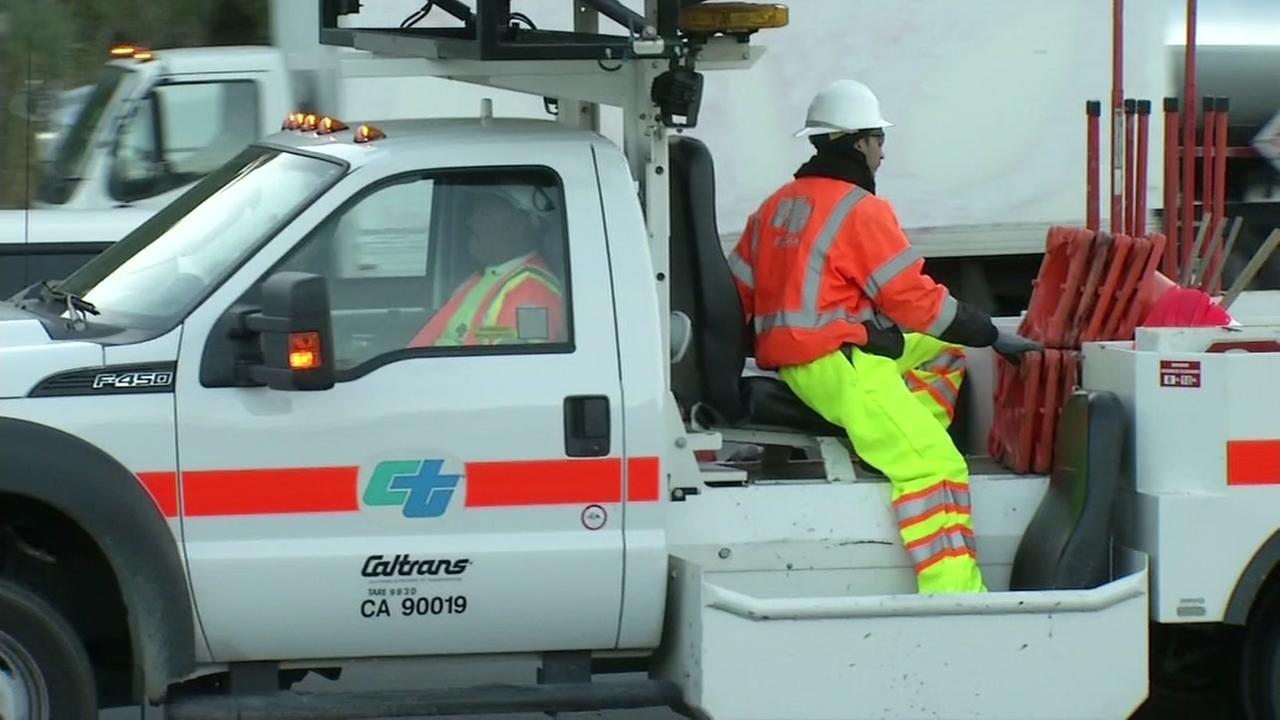 Carquinez Bridge toll plaza undergoes emergency repair work Monday