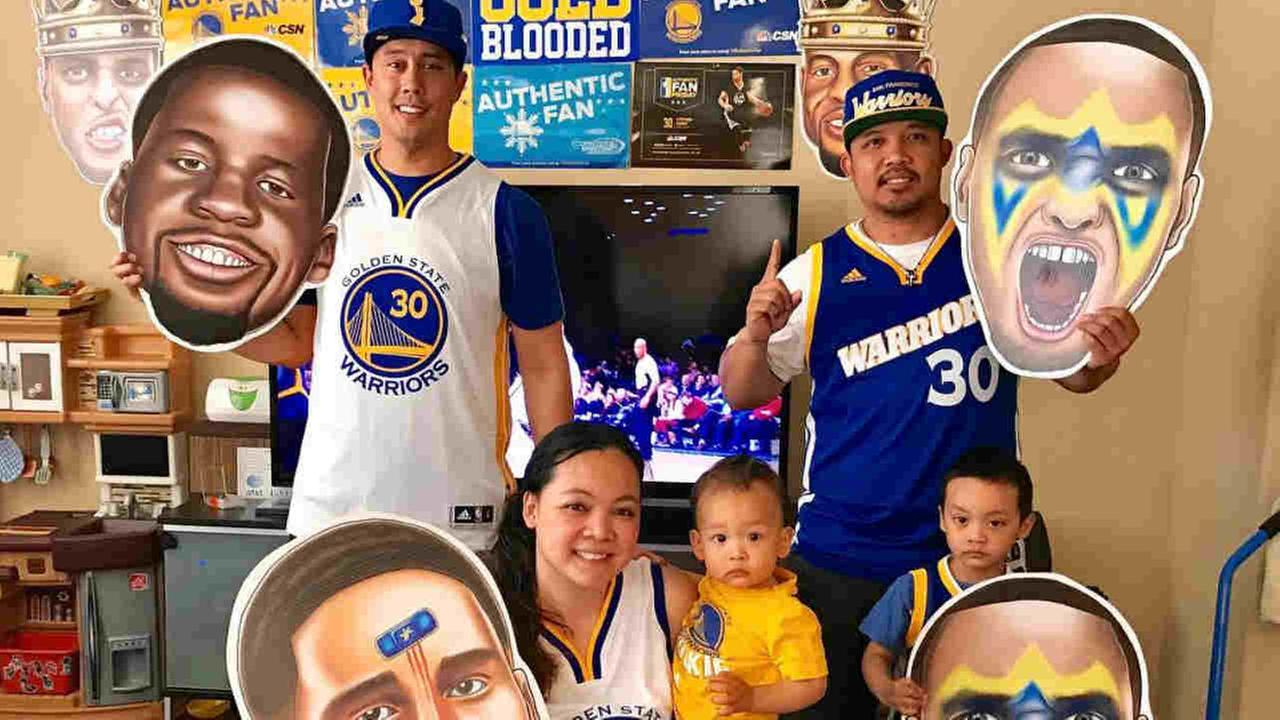 Golden State Warriors fans sent in their pics using #DubsOn7 or #abc7now to cheer on the Dubs during their 2016-2017 season.