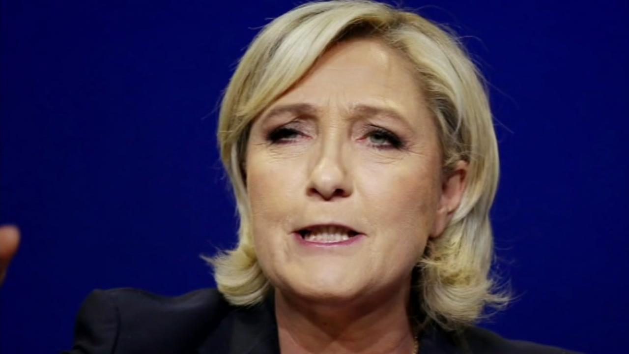Marin Le Pen is seen in this undated image.