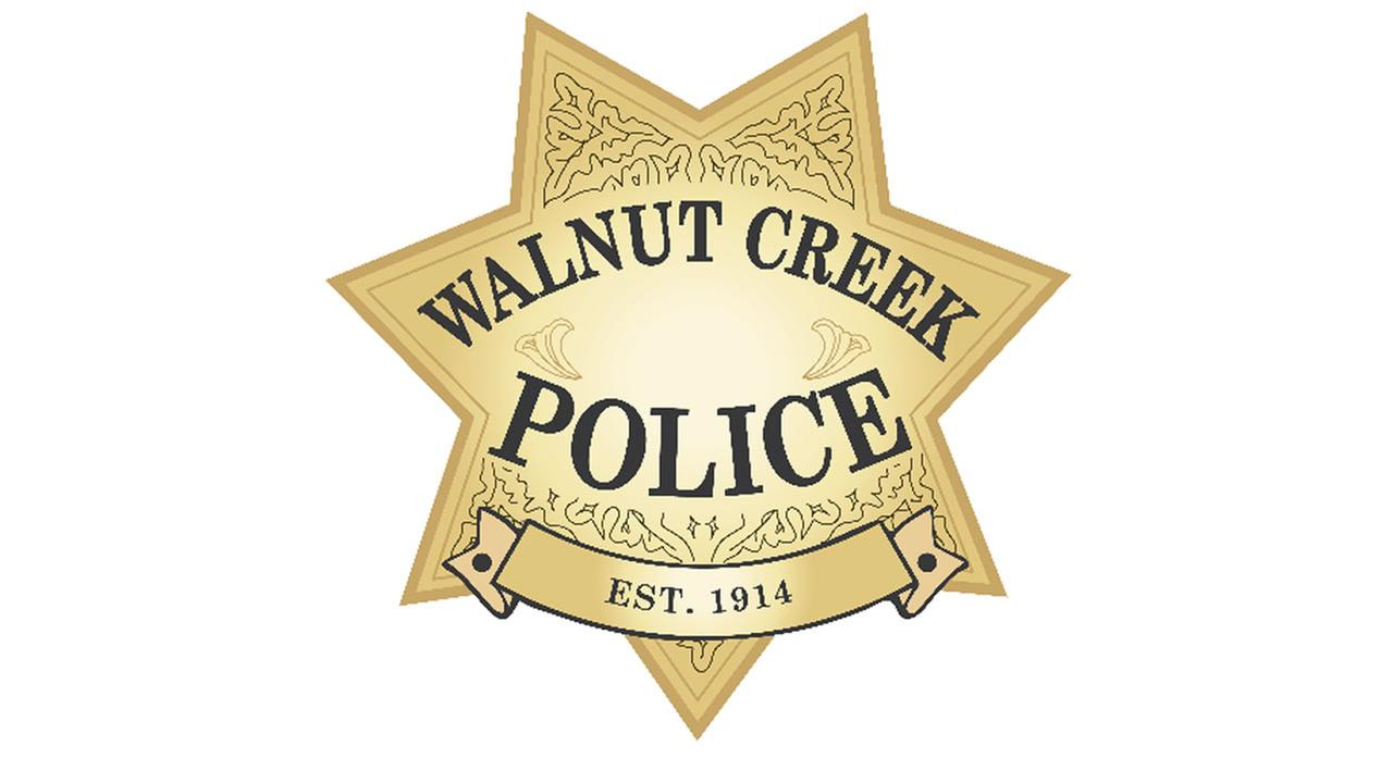 This undated image shows a logo for the police department in Walnut Creek, Calif.