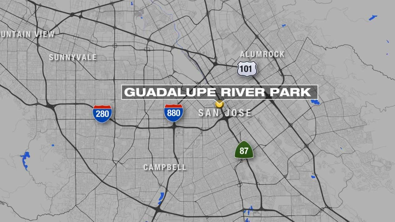 A man suffered life-threatening injuries in an attack in San Joses Guadalupe River Park.