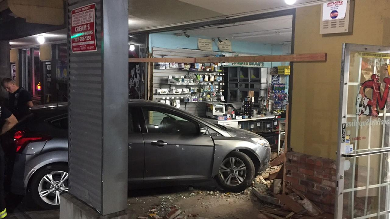 Driver charged with DUI after crashing into Santa Rosa pet store, smoked pot before driving