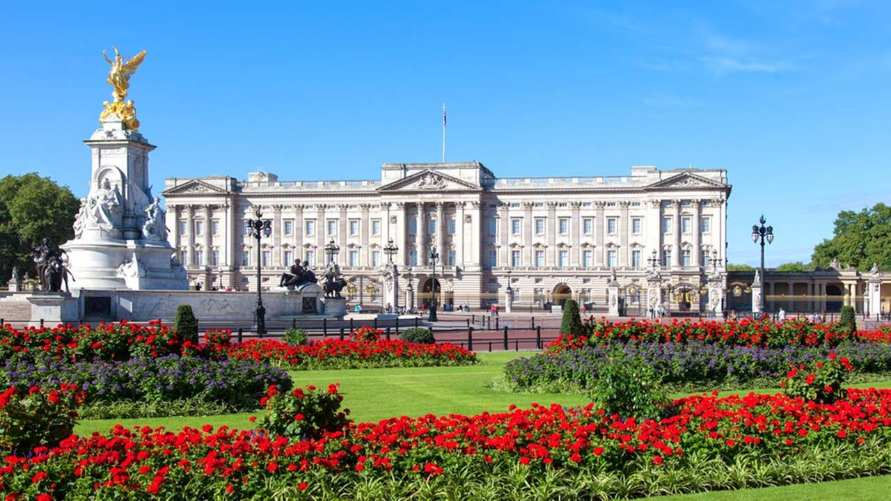 Buckingham Palace is shown in a file photo.