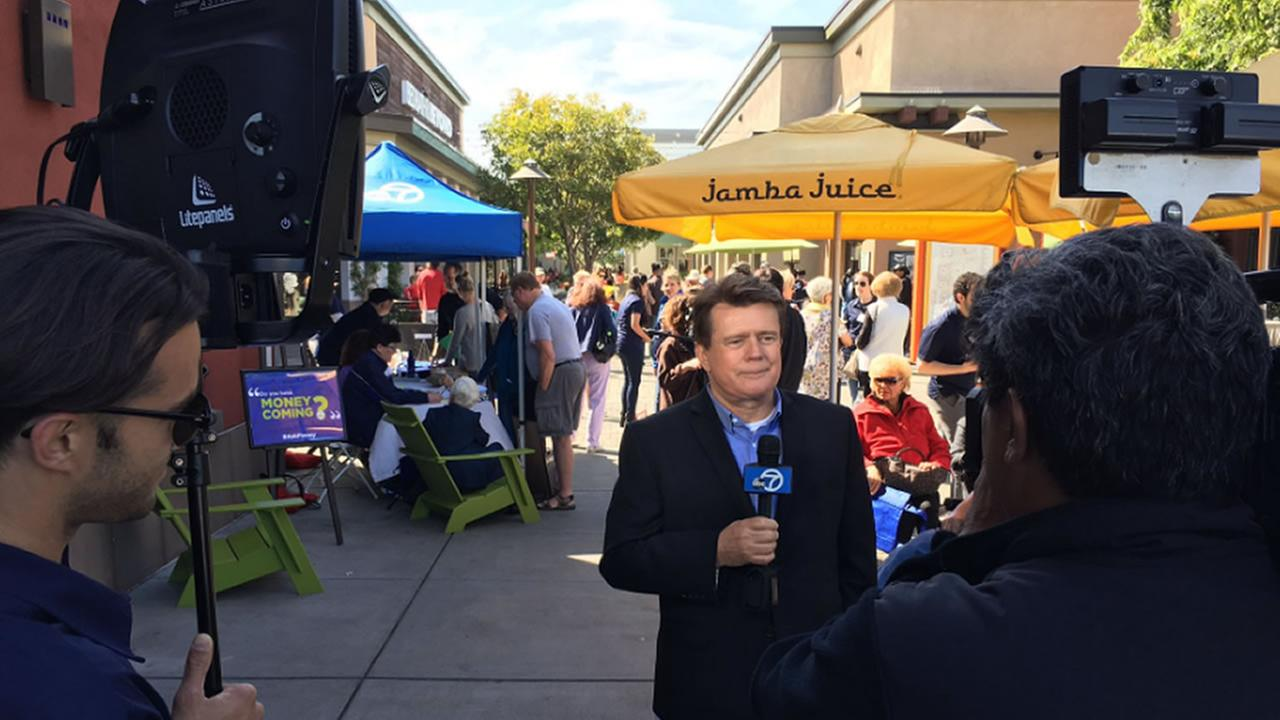 7 On Your Sides Michael Finney at Alamedas South Shore Center on Friday, May 5, 2017 meeting viewers and take consumer questions.KGO-TV