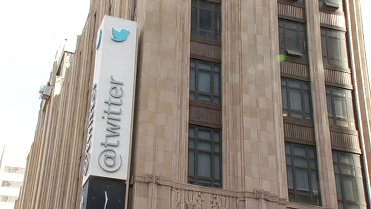 Twitter headquarters on Market Street in San Francisco.