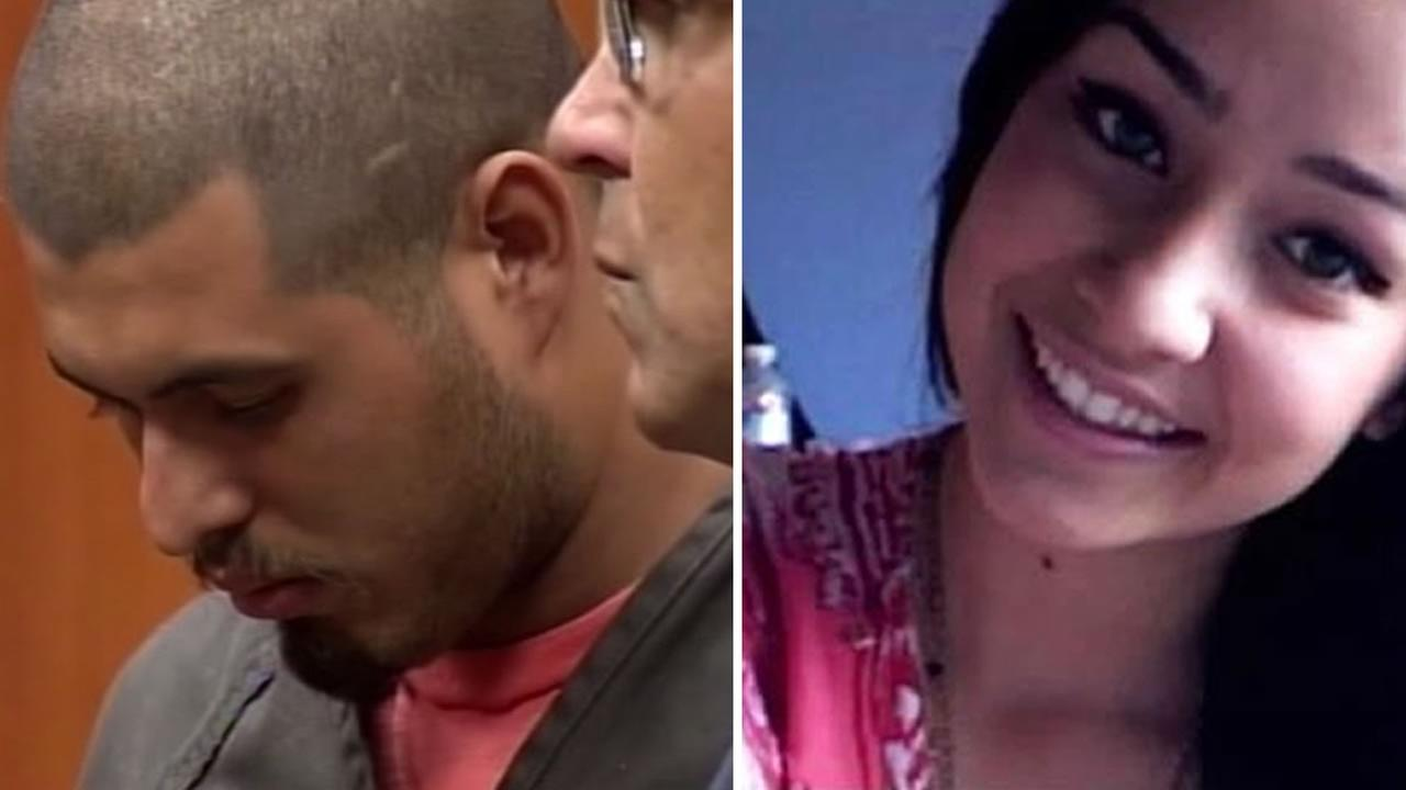 This undated image shows Sierra LaMar, left, and Antolin Garcia-Torres, right. Torres is accused of kidnapping and killing the 15-year-old LaMar in Morgan Hill, Calif. in 2012.