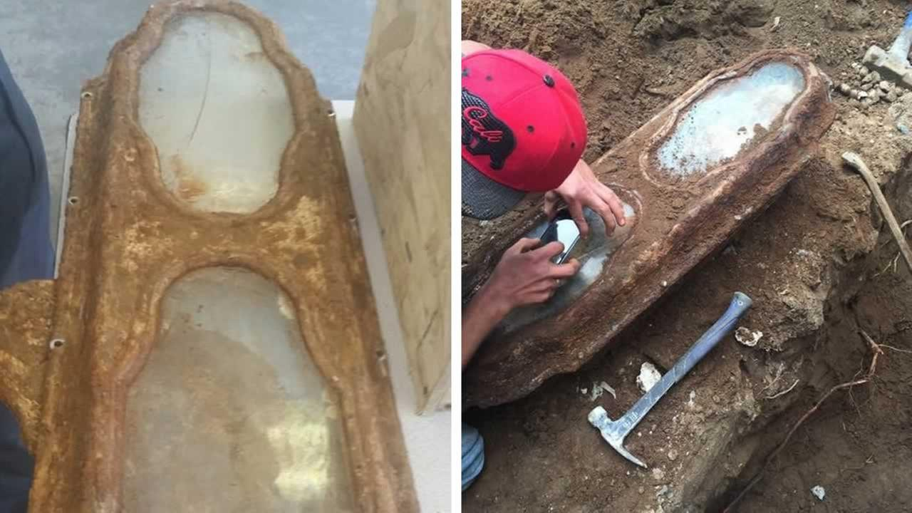mystery solved from 1800s found in casket in backyard of san