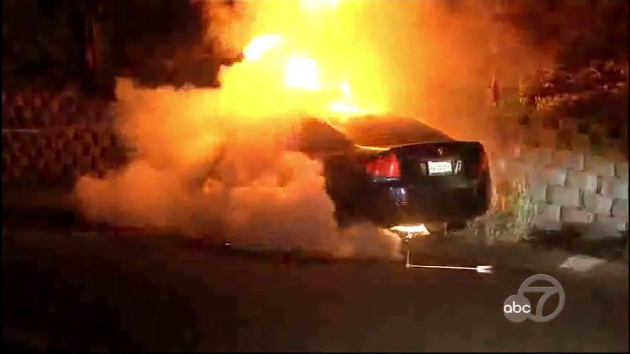 TIMELINE: Suspicious car fires under investigation in East Bay