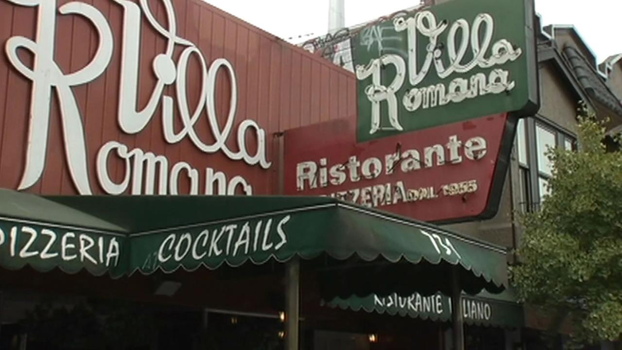 Villa Romana restaurant on Irving Street in San Francisco.