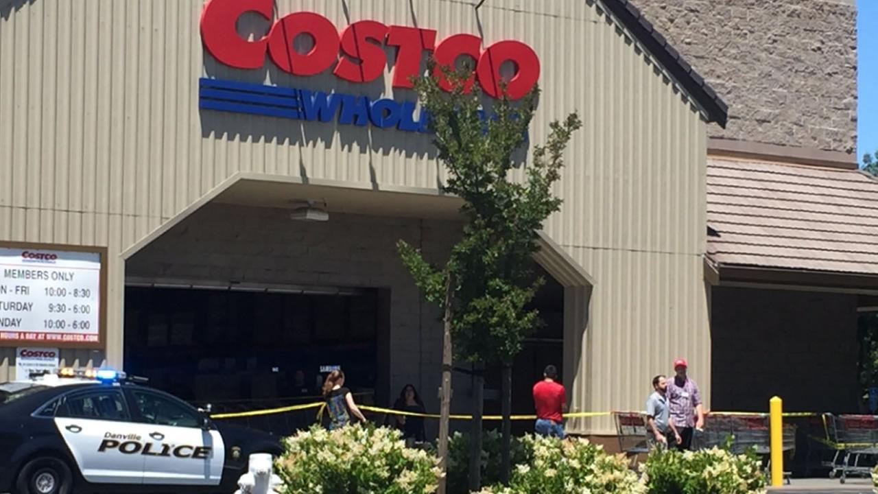 Shorts fired during smash and grab at Costco in Danville