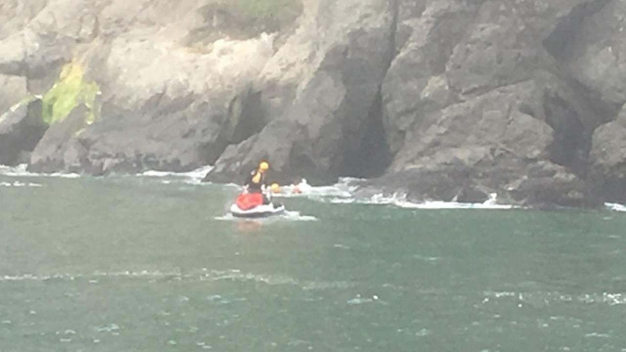 Coast Guard helps 5 in vessel taking on water near Carolina Beach