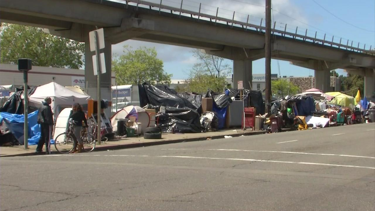 Countywide survey finds record number of homeless living in Alameda County