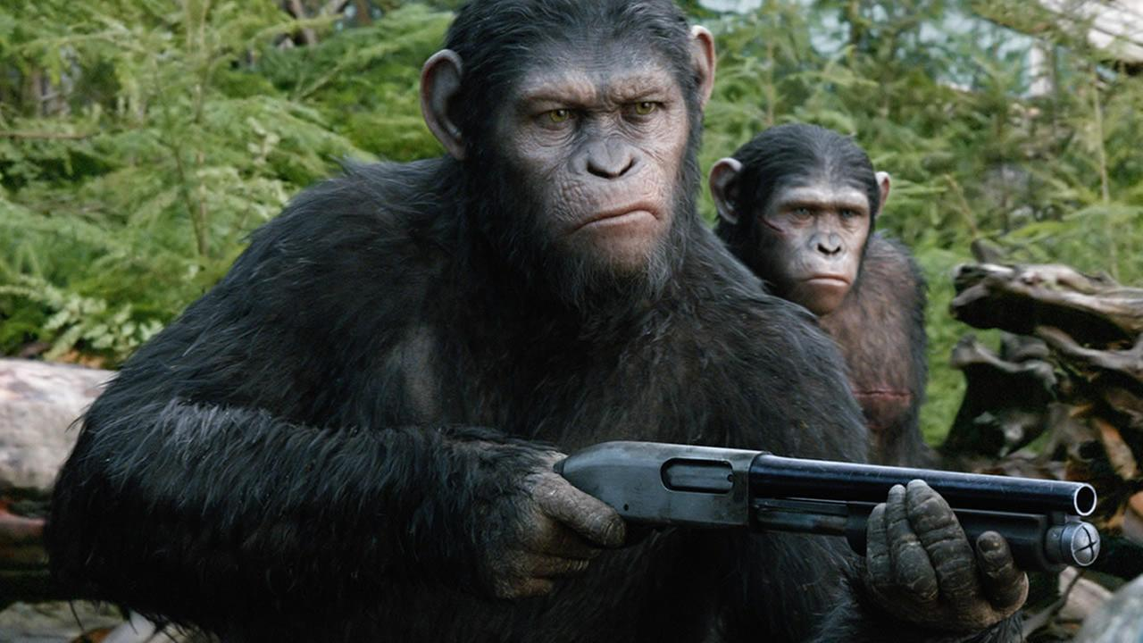 Andy Serkis as Caesar in a scene from the film, Dawn of the Planet of the Apes. (AP Photo/Twentieth Century Fox Film Corporation)