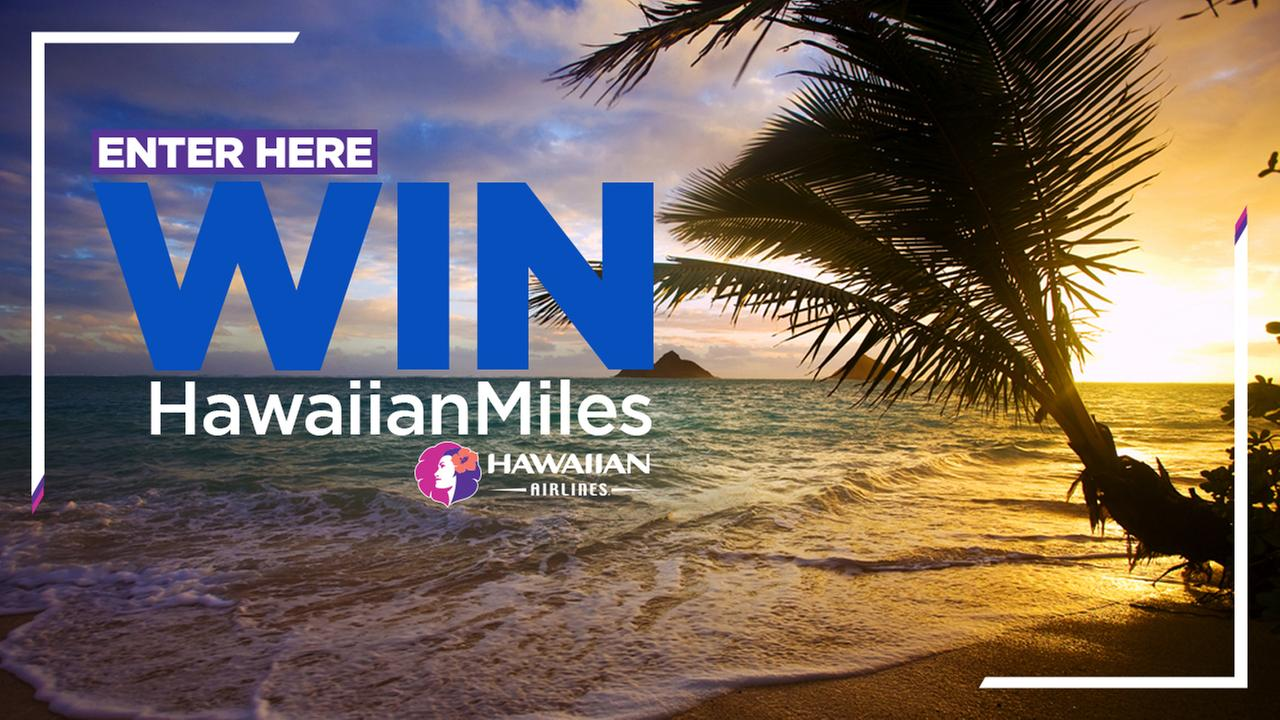 Jump for joy in June! Enter for your chance to win a trip for 2 to Hawaii on ABC7 Aloha Fridays!