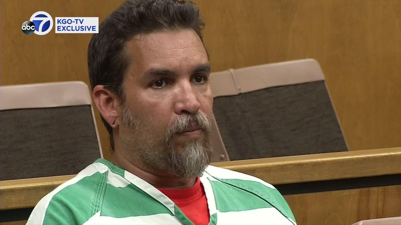 Ghost Ship warehouse founder Derick Almena appears in Lake County Superior Court on Monday, June 5, 2017.