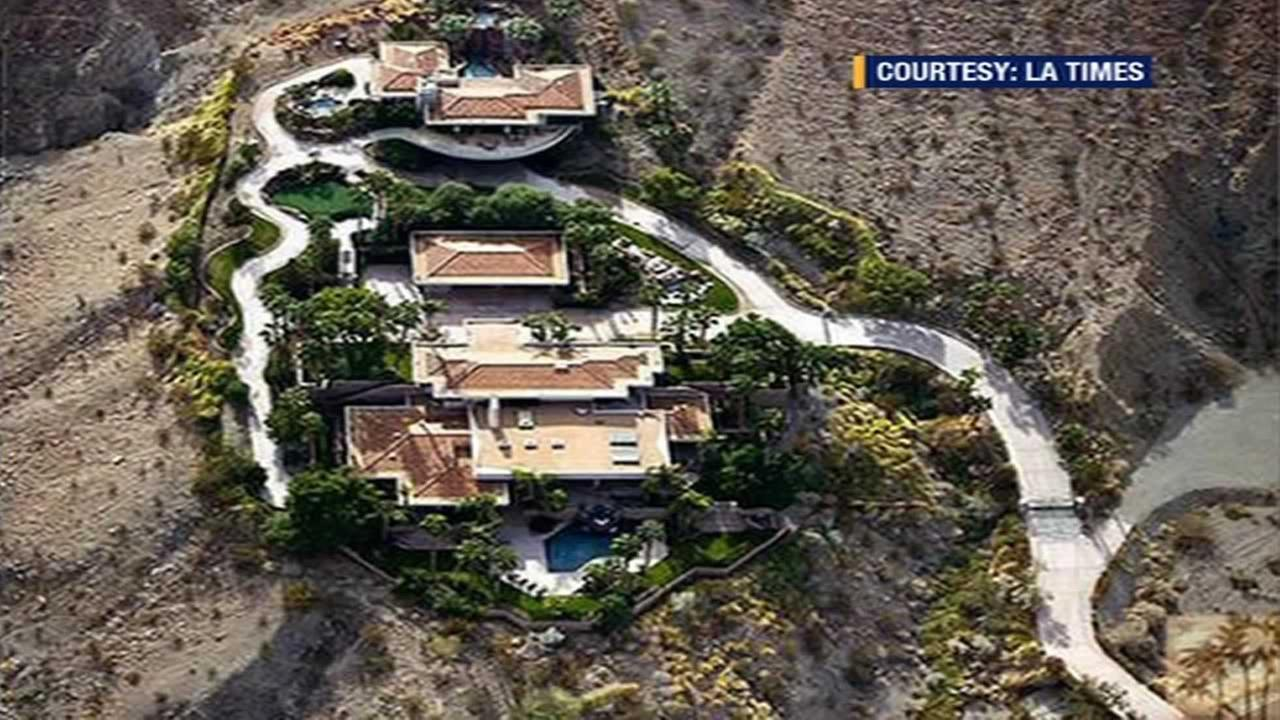 The home in Rancho Mirage, California that the Obamas are reportedly looking to buy.