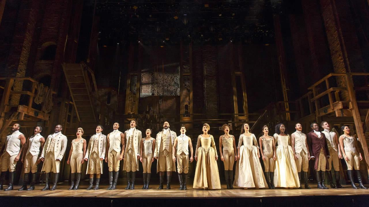 Hamilton cast members will perform the national anthem at Game 5 of the NBA Finals between the Golden State Warriors and the Cleveland Cavaliers.