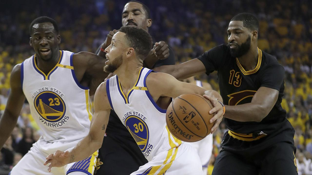 NBA Finals 2017: Photos from Warriors vs. Cavs Game 5 ...