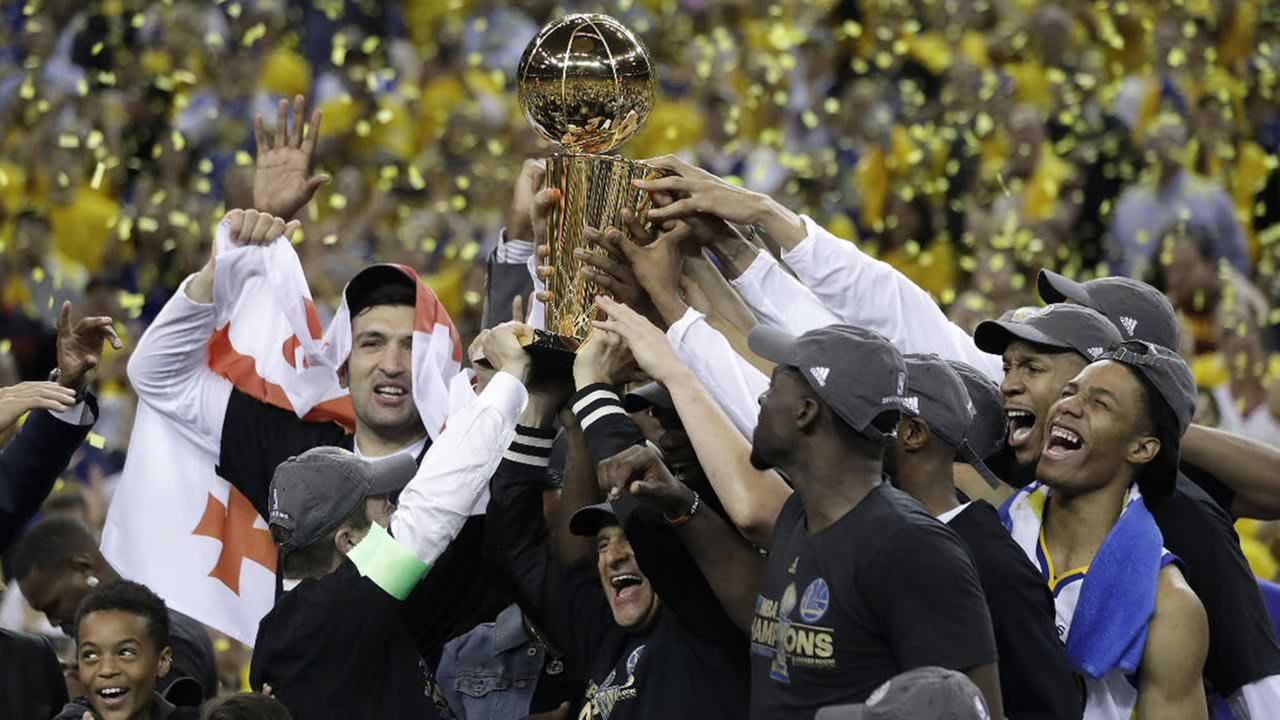 heavy.com Warriors take NBA title with 129-120 win over Cavs in Game 5 of  NBA Finals 50145c12c