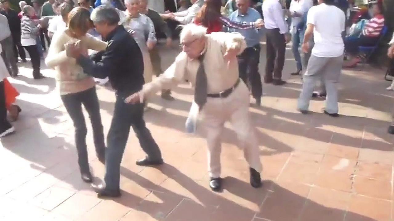 dancing granpa
