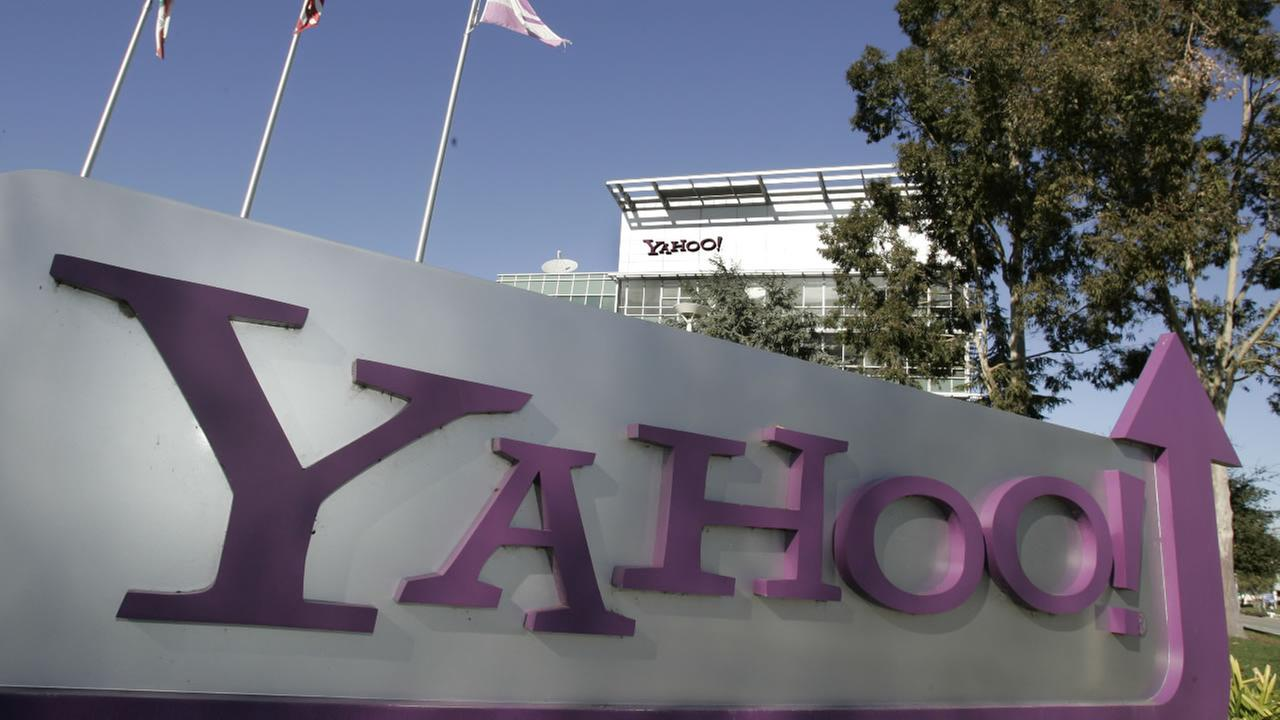 FILE - In this Jan. 13, 2009 file photo, Yahoo Inc. headquarters in Sunnyvale, Calif. is seen Tuesday, Jan. 13, 2009.