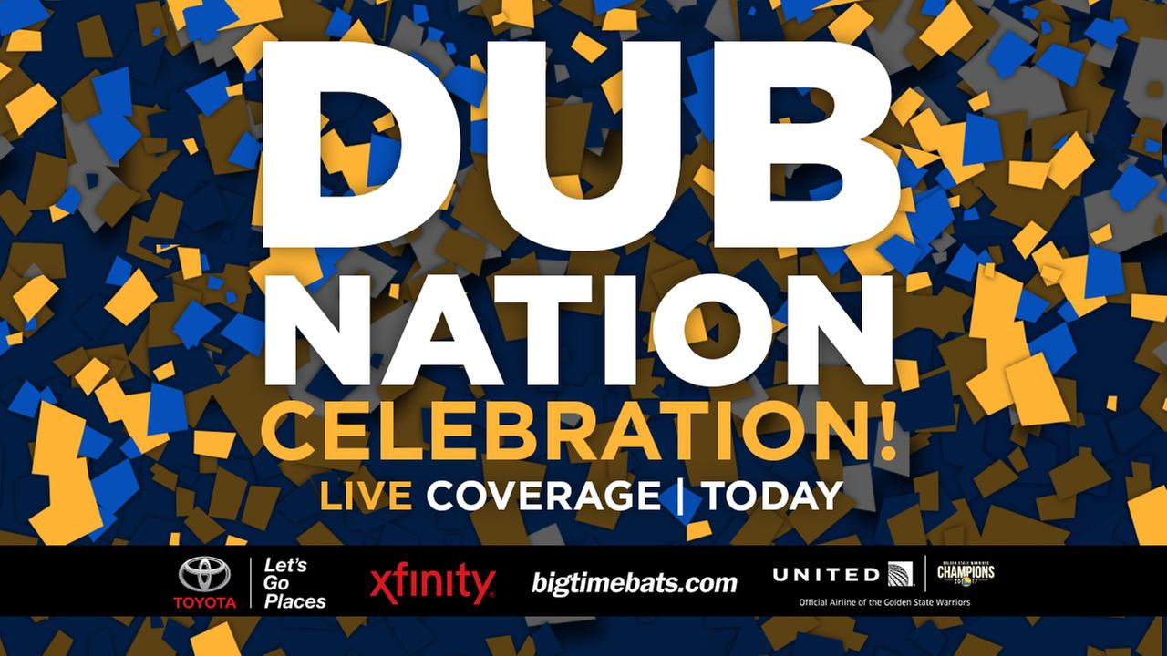 WATCH LIVE 10 AM: Warriors victory parade and rally