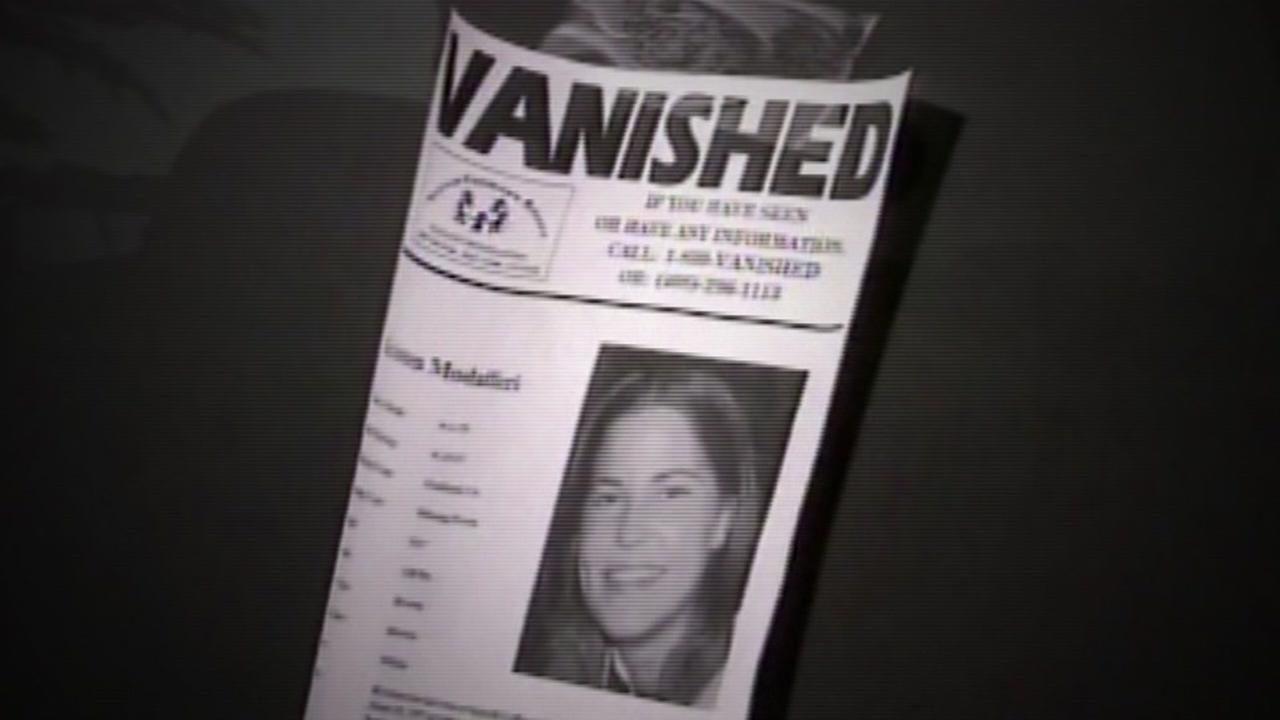 This is an undated missing poster for Kristen Modaffari, who vanished from Oakland, Calif. in 1997.